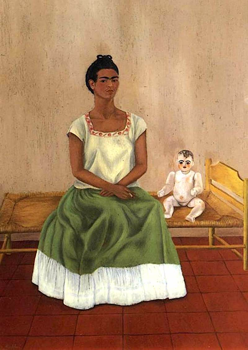 Me and My Doll, 1937 - by Frida Kahlo