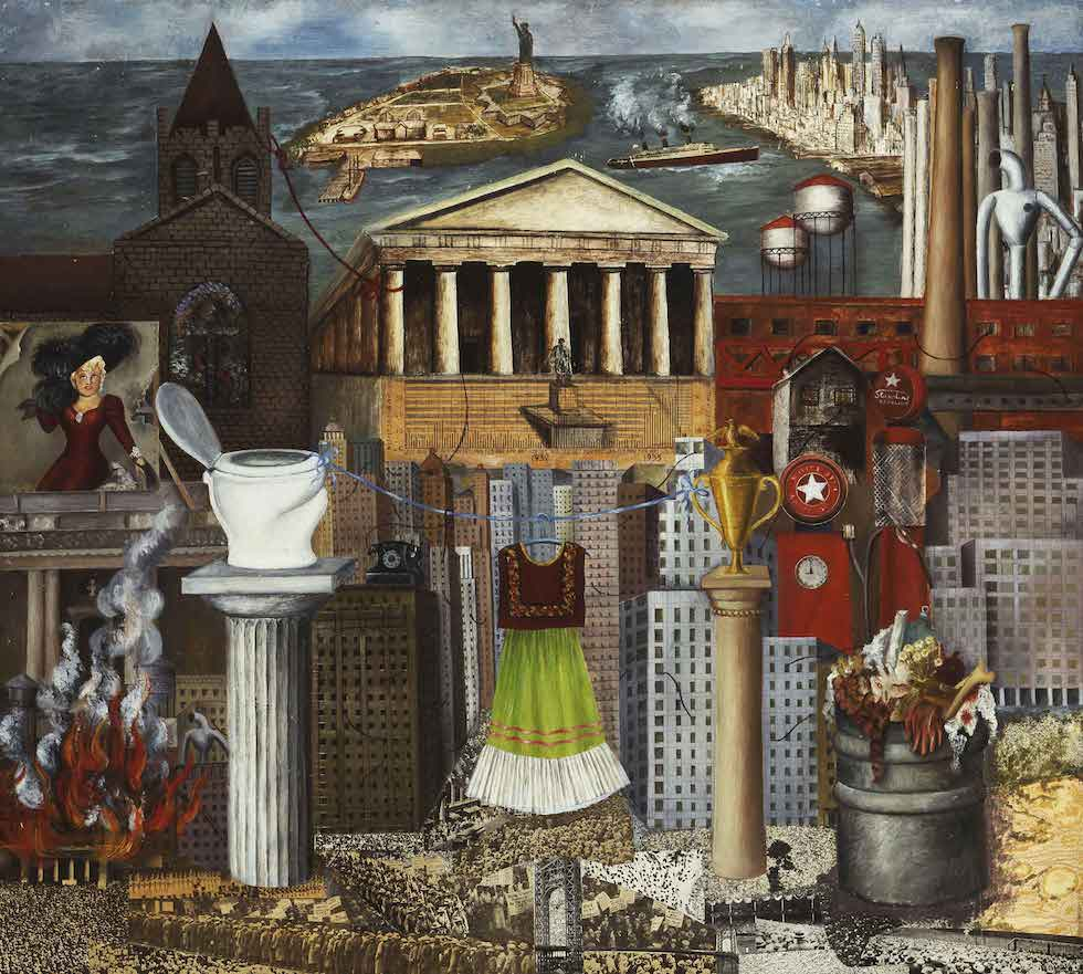 My Dress Hangs There, 1933 by Frida Kahlo