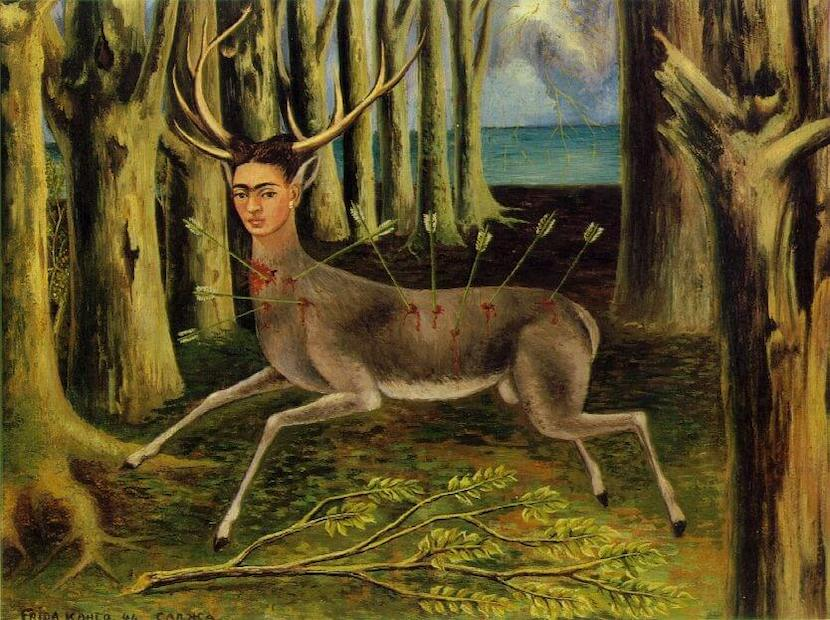 The Wounded Deer, 1946 by Frida Kahlo
