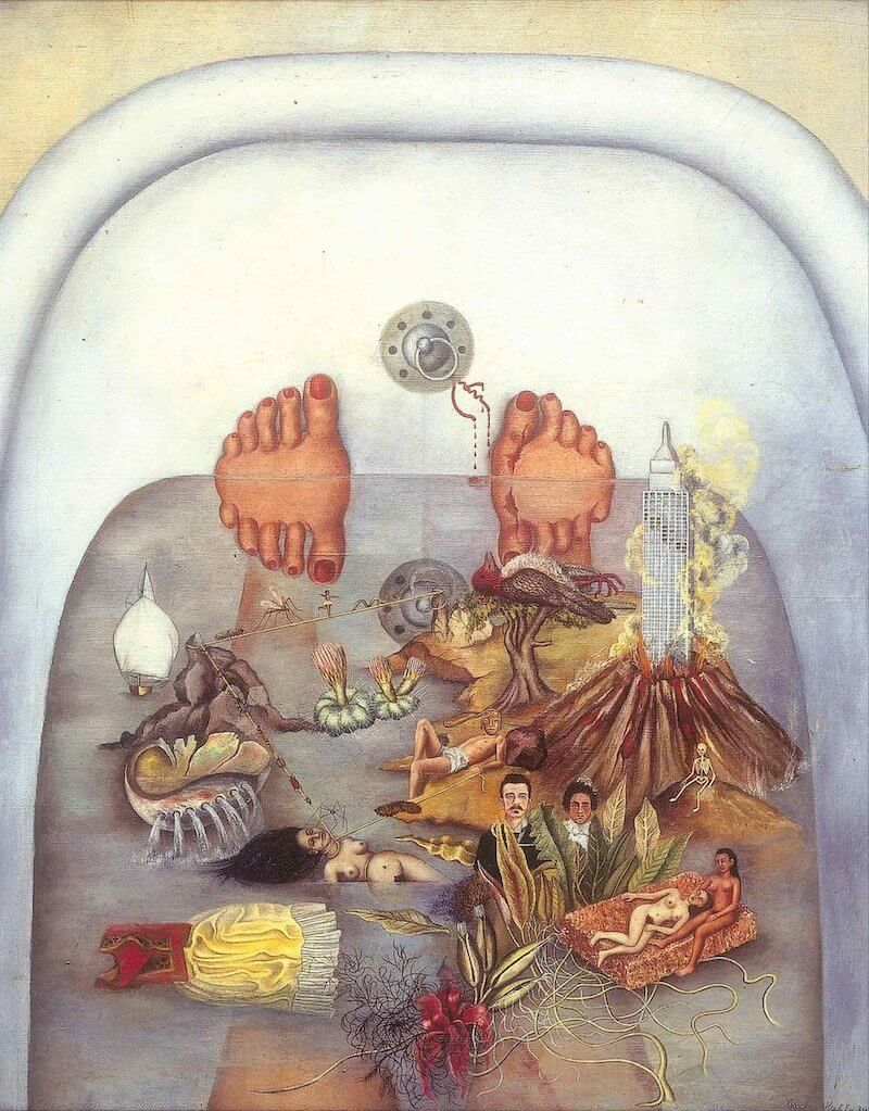 What the Water Gave Me, 1938 by Frida Kahlo