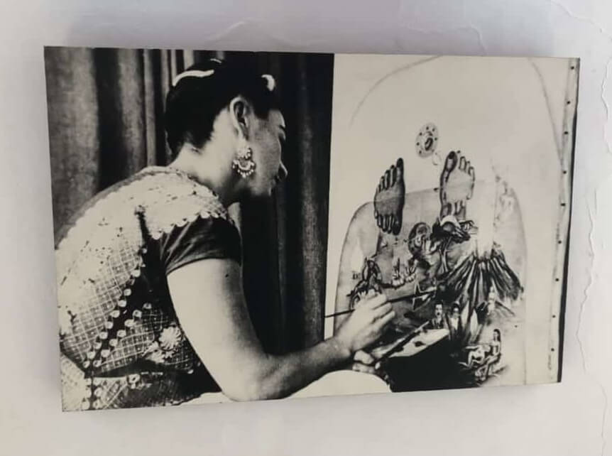 Photo of Frida Painting 'What the Water Gave Me'